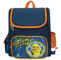 Рюкзак (ранец) школьный каркасный 1 Вересня 551286 Шрек-1 29*13*34см короб