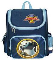 Рюкзак (ранец) школьный каркасный 1 Вересня 551321/551322 Панда Кунг-фу-5 29*13*34см короб