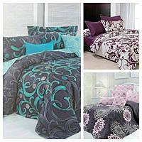 Качественный комплект постельного белья. Разные расцветки