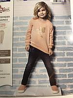 Джинсы джеггинсы детские стрейчевые Papagino на девочку 9-12 мес.