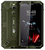 "Смартфон Homtom ZOJI Z8 green, IP68, 4/64Gb, 16/13Мп, 8 ядер, 2sim, экран 5""IPS, 4250mAh, GPS, 3G, Android 7, фото 1"