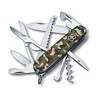 Victorinox Huntsman 91 мм 15 предметов камуфляж + штопор + ножницы + пила + крюк Vx13713.94