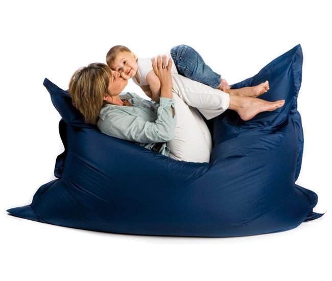 Кресло-мешок, кресло-мат, подушка Микро-рогожка 140*180см. C дополнительным чехлом