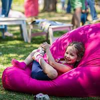 Кресло-мешок груша Оксфорд Карамельно-розовый