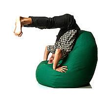 Кресло-мешок груша Зеленое Оксфорд 85х105 см