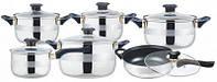 Набор кухонной посуды 12 предметов  SWITZNER SW-9995