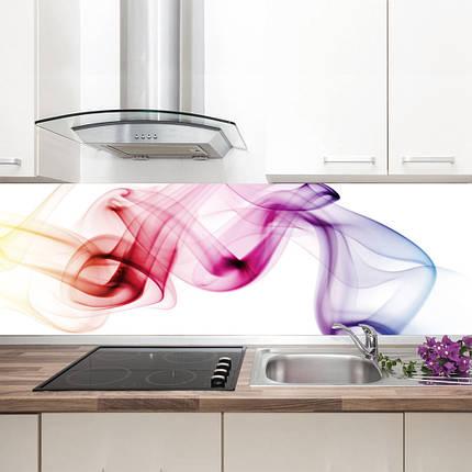 "Фартук на кухню / Скинали ""Разноцветная дымка"", фото 2"