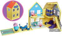 Игровой набор Peppa - ЗАГОРОДНЫЙ ДОМ ПЕППЫ (домик с мебелью, 4 фигурки)
