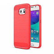 Чехол на Samsung S6 edge Красный