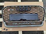 Решетка радиатора на Audi A6 RS6 (2014-...) Quattro, фото 2