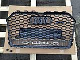 Решетка радиатора на Audi A6 RS6 (2014-...) Quattro, фото 4