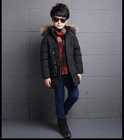 Куртка детская черная (еврозима) Киев