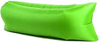 Надувне крісло-мішок Ламзак/Салатовий/ надувний диван