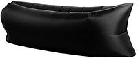 Надувное кресло-мешок Ламзак/Черный/ надувной диван