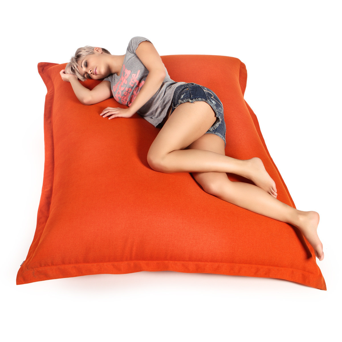 """Кресло-мешок, кресло-мат, подушка 140*180см. Эко-кожа """"Зевс"""""""