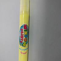 Краска витражная жёлтая с блеском 10.5 мл