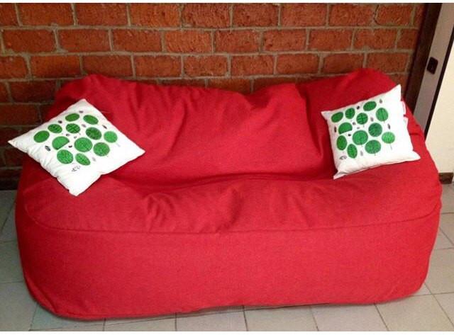 Кресло мешок, бескаркасный диван ткань Оксфорд 90*120*175см
