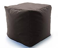 Кресло мешок, пуфик, кубик. Микро-рогожка Саванна 50*50*50 см. , фото 1