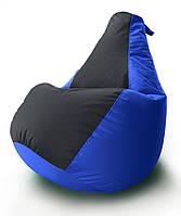 Кресло-мешок груша Комби. Оксфорд 65*85 см.