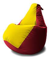 Кресло-мешок груша Комби. Оксфорд 65*85 см. С дополнительным чехлом