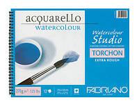 Бумага для акварели спираль 13,5*21см 12л. 270г/м2 Studio TORCHON Альбом F-72701321