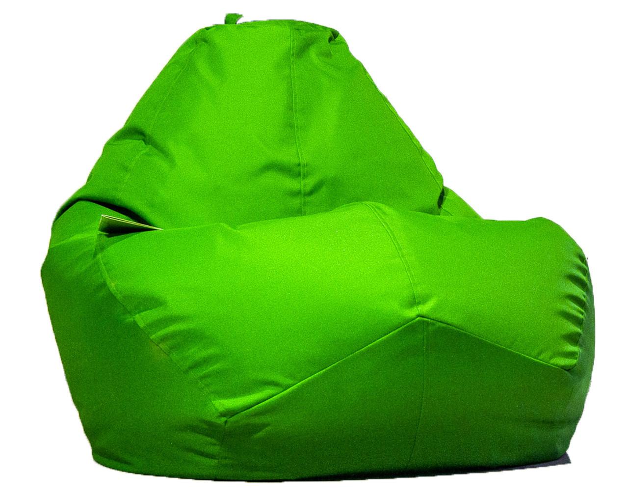 Огромное овальное кресло-мешок, груша Оксфорд 100*140 см.