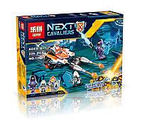 "Конструктор Lepin аналог LEGO NEXO KNIGHTS 70348 ""Турнирная машина Ланса"" 220дет."