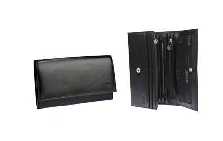 Кошелек кожаный Bond 620_281 кожа ролекс черная