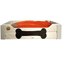 """Лежак для мелких собак  """"Юки"""", (40х50см)"""