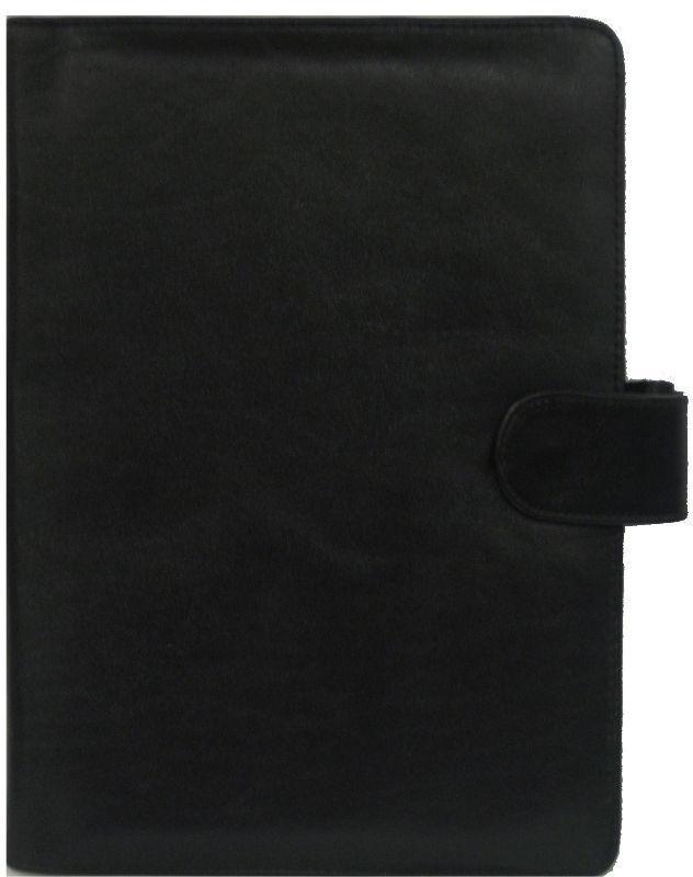 Обложка кожаная для ежедневника А5 Bond_541 кожа лазер красная