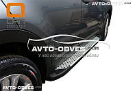Подножки боковые профильные Hyundai Creta 2016-... стиль BMW X5