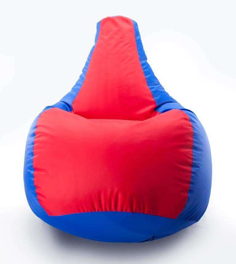 Кресло-мешок груша Комби. Оксфорд 300 D 65*85 см.