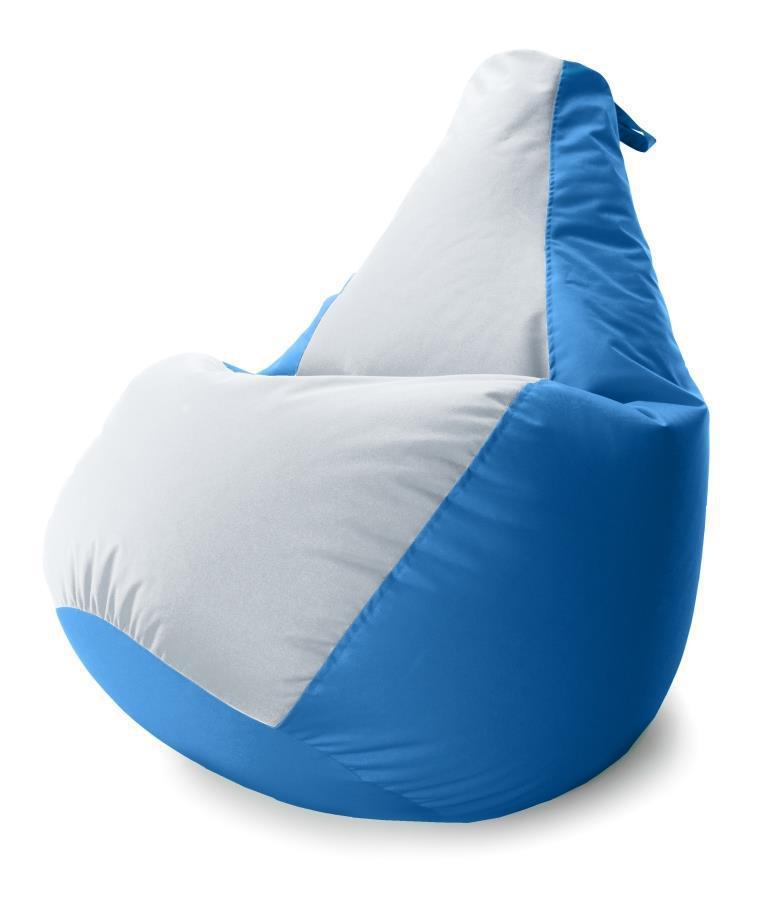 Большое Кресло-мешок груша Комби. Оксфорд 90*130 см. С дополнительным чехлом