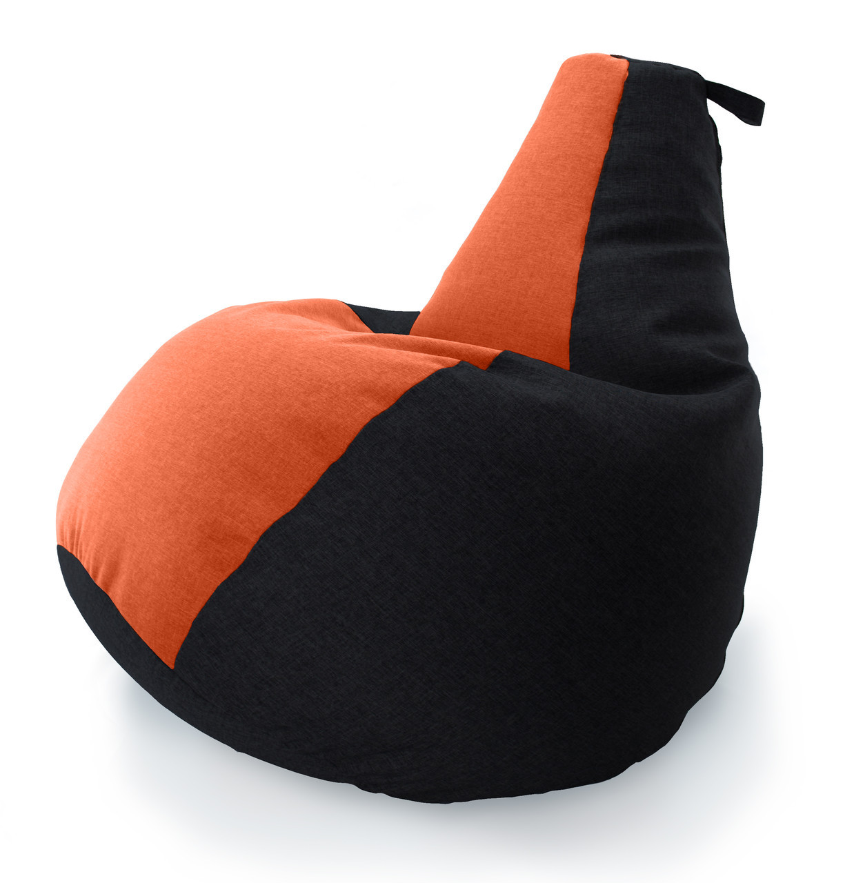 Огромное Кресло-мешок груша Комби. Микро-рогожка 100*140 см. С дополнительным чехлом