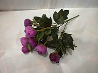 Букет роз шебби шик  фиолетовые.