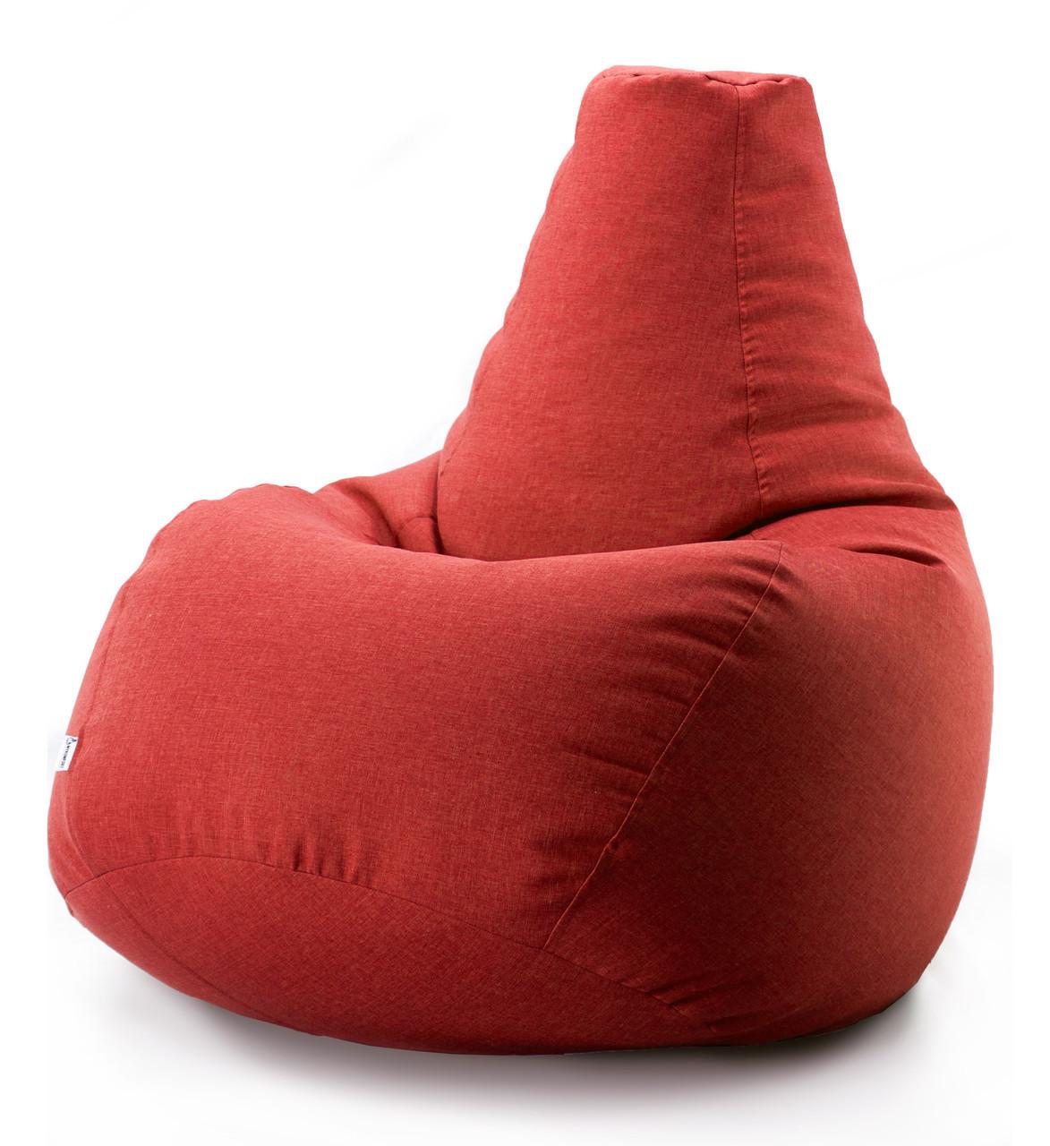 Кресло-мешок груша Микро-рогожка 85*105 см. С дополнительным чехлом