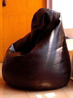 """Огромное кресло-мешок груша Эко-кожа """"Зевс"""" 100*140см"""