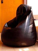 """Огромное кресло-мешок груша Эко-кожа """"Зевс"""" 100*140см, фото 1"""