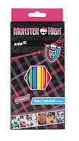 Карандаши цветные 12цв. Kite мод 051 Monster High MH13-051K