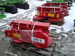 Косарка косилка роторна на мінітрактор 1,85 Wirax Польща, фото 2