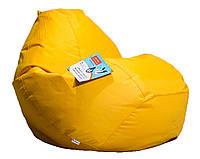 Большое овальное кресло - мешок  груша  Оксфорд 90*130 см. С дополнительным чехлом, фото 1