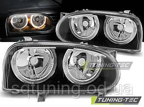Фары VW GOLF 3 09.91-08.97 ANGEL EYES BLACK