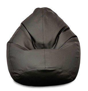 """Огромное овальное кресло-мешок, груша Эко-кожа """"Зевс"""" 100*140 см."""
