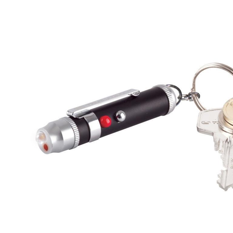 Брелок TRUE UTILITY LaserLite Tu211 с LED фонариком и лазерной указкой