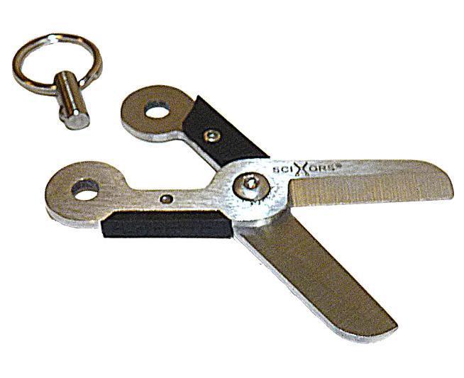 Брелок TRUE UTILITY SciXors Tu249 ножницы
