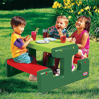 Детский столик для пикника Little Tikes, фото 2