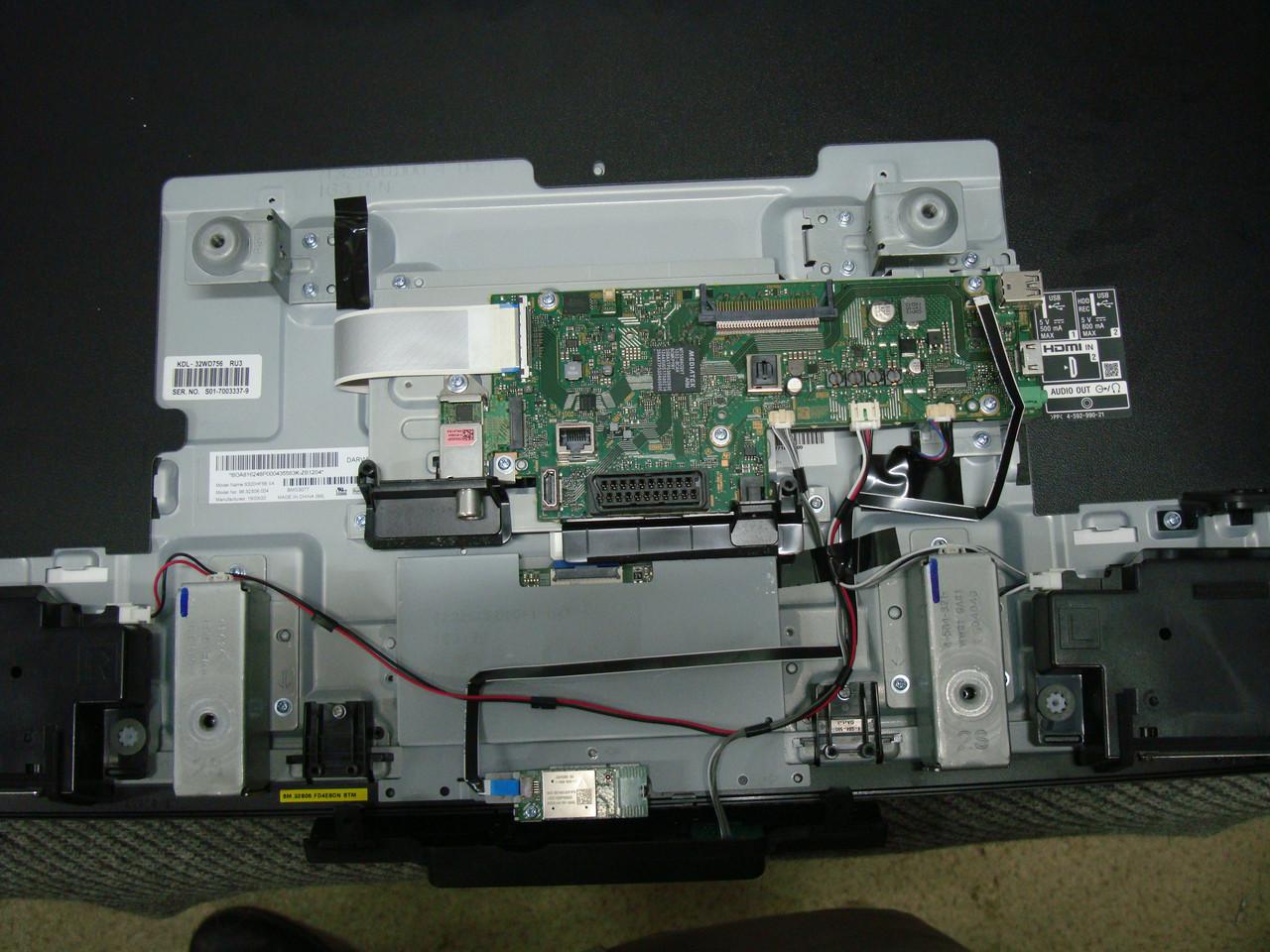 Запчасти к телевизору Sony KDL-32WD756(1-980-335-12 173587112 , Tuner DE243ZP, HV320FHB-N80 )