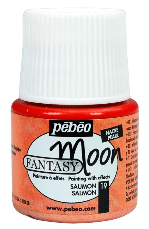 Краска лаковая для всех поверхностей PEBEO Fantasy moon 45мл Розовый светлый P-167019