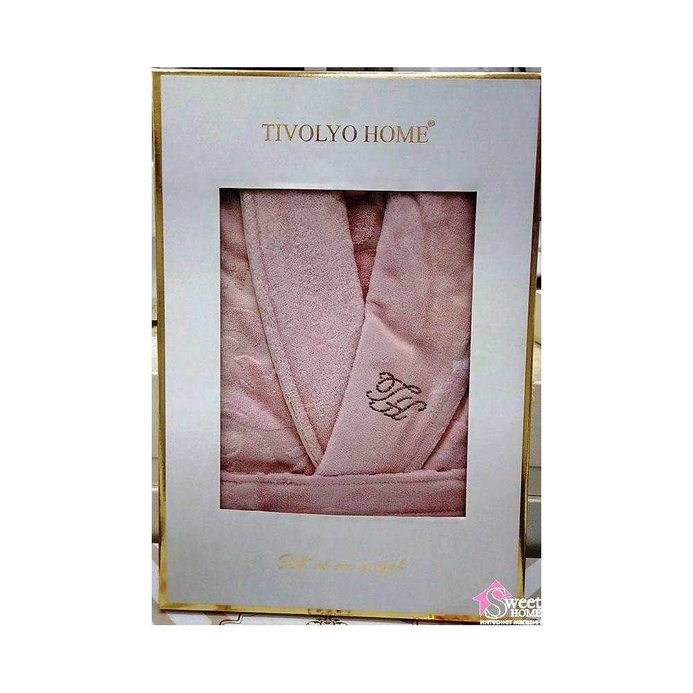 Tivolyo Home халат BAROC TASLI M BEDEN    LILA