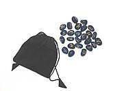 Руны из Авантюрина (темно-синий палированный камень)